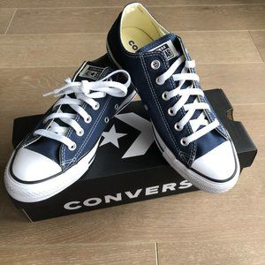 Converse All Star Low Cut Sneakers Navy Size 9
